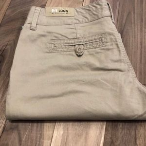 Maurices casual chino pants khaki size 5/6 NWT